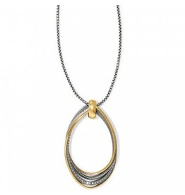 Brighton Neptunes Rings Twirl Convertible Pendant Necklace
