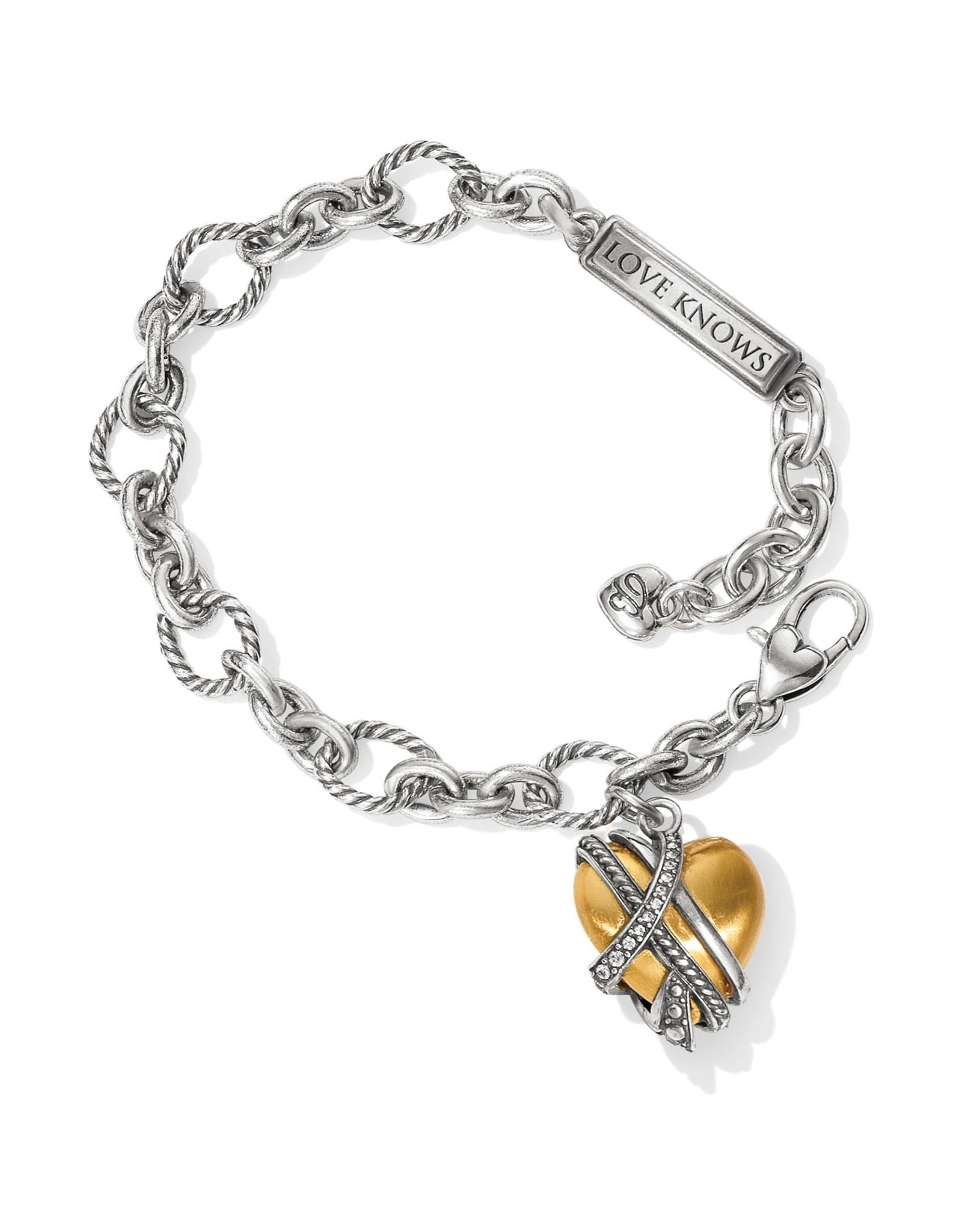 Brighton Neptunes Rings Golden Heart Bracelet