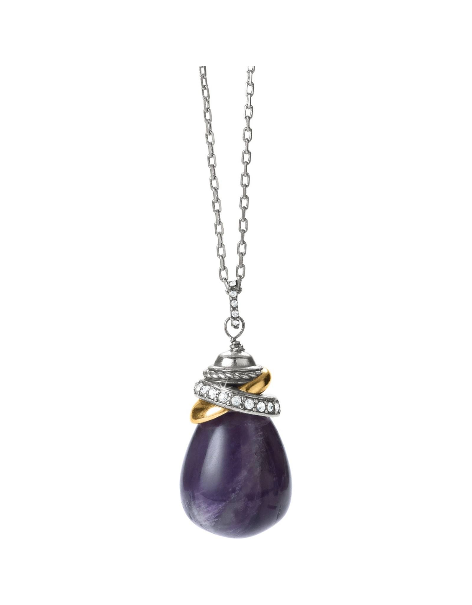 Brighton Neptunes Rings Amethyst Pendant Necklace