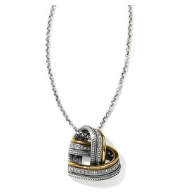 Brighton Neptunes Rings Woven Heart Necklace