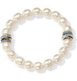 Brighton Neptunes Rings Pearl Stretch Bracelet