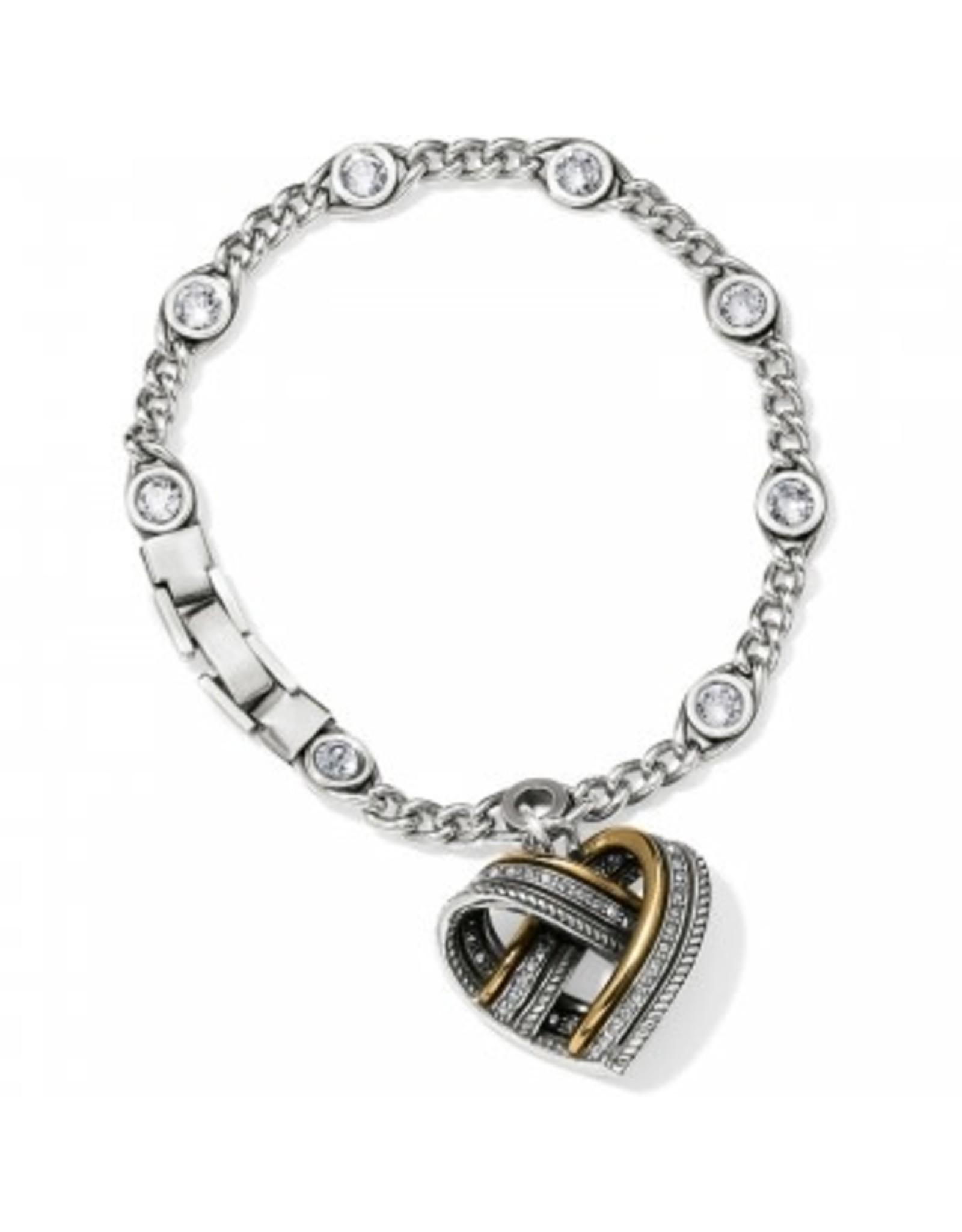 Brighton Neptunes Rings Woven Heart Bracelet