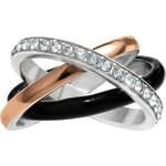 Brighton Neptunes Rings Black Trio Ring Size 08