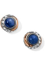 Brighton Neptunes Rings Brazil Blue Quartz Button Earrings