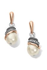 Brighton Neptunes Rings Pearl Teardrop Earrings