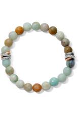 Brighton Neptunes Rings Amazonite Stretch Bracelet