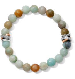 Brighton Neptunes Rings Amazonite Stretch Bracelet