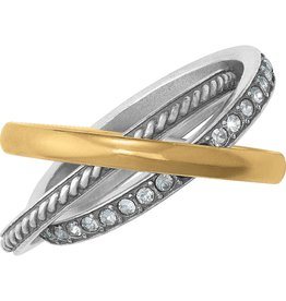 Brighton Neptunes Rings Trio Ring Size 9