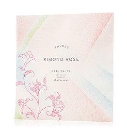 Thymes Kimono Rose Bath Salts 2 oz.