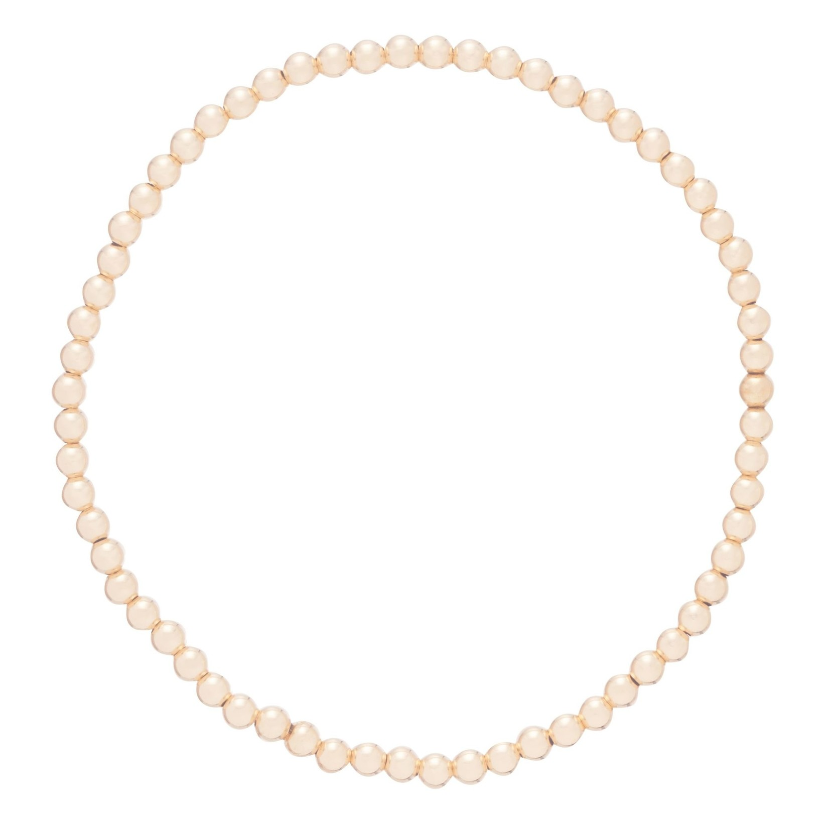 Enewton Design Extends Classic Gold 4mm Bead Bracelet