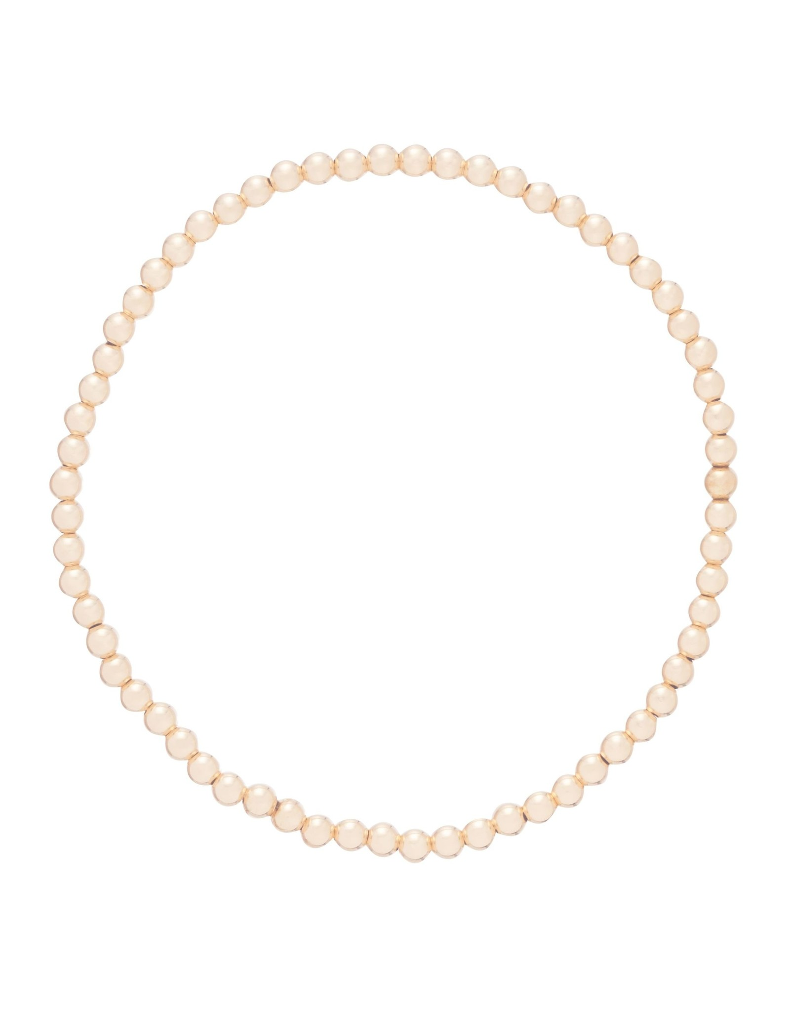 Extends Classic Gold 5mm Bead Brace