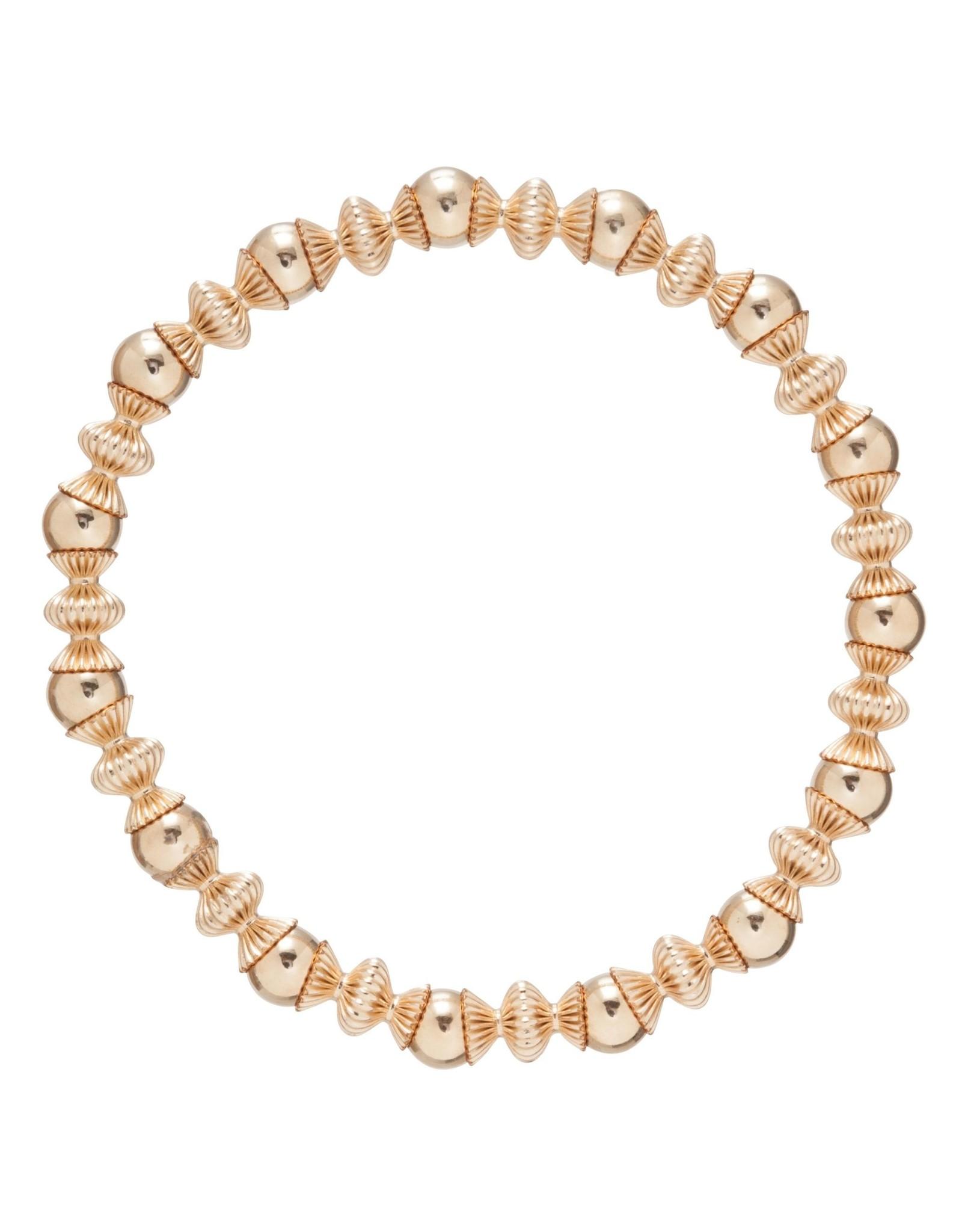 Loyalty Gold 6mm Bead Brace