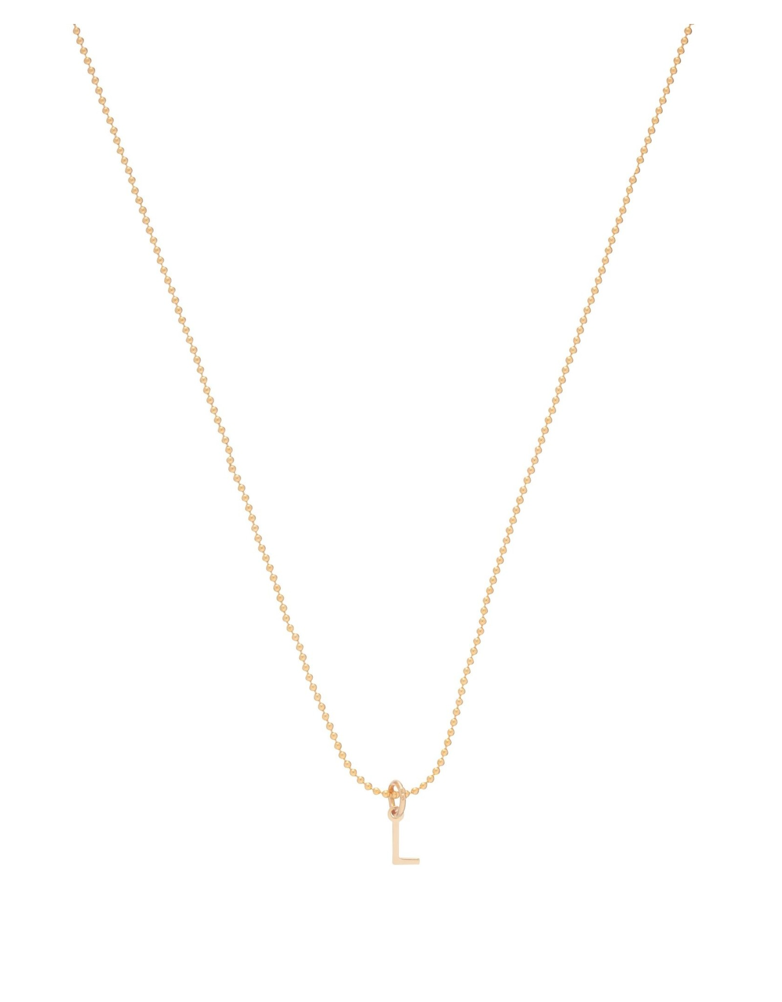 """16"""" Neck Gold Respect Gold Charm T"""
