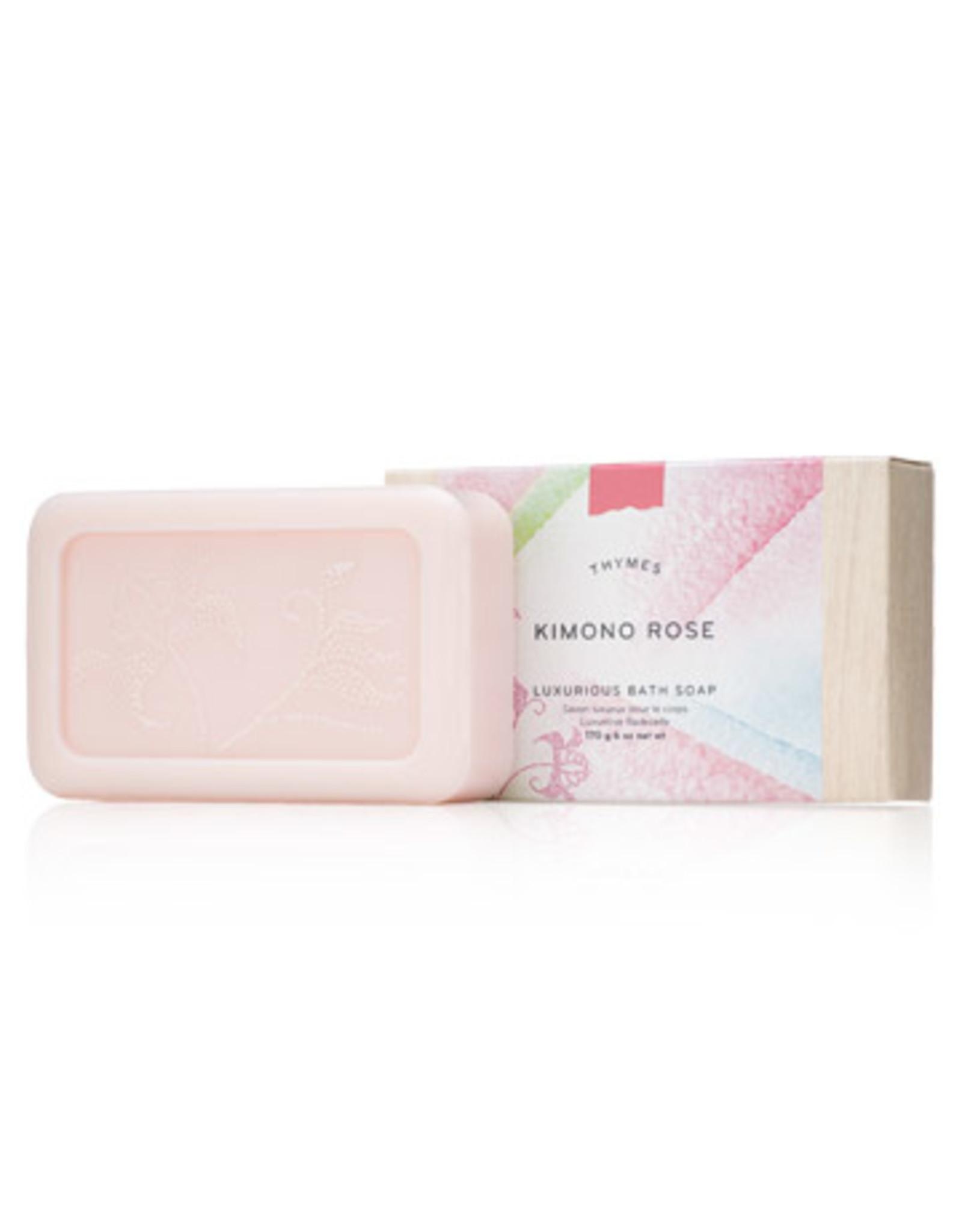 Thymes Kimono Rose Bath Soap