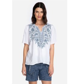 Johnny Was Maike Flutter Slv Blouse