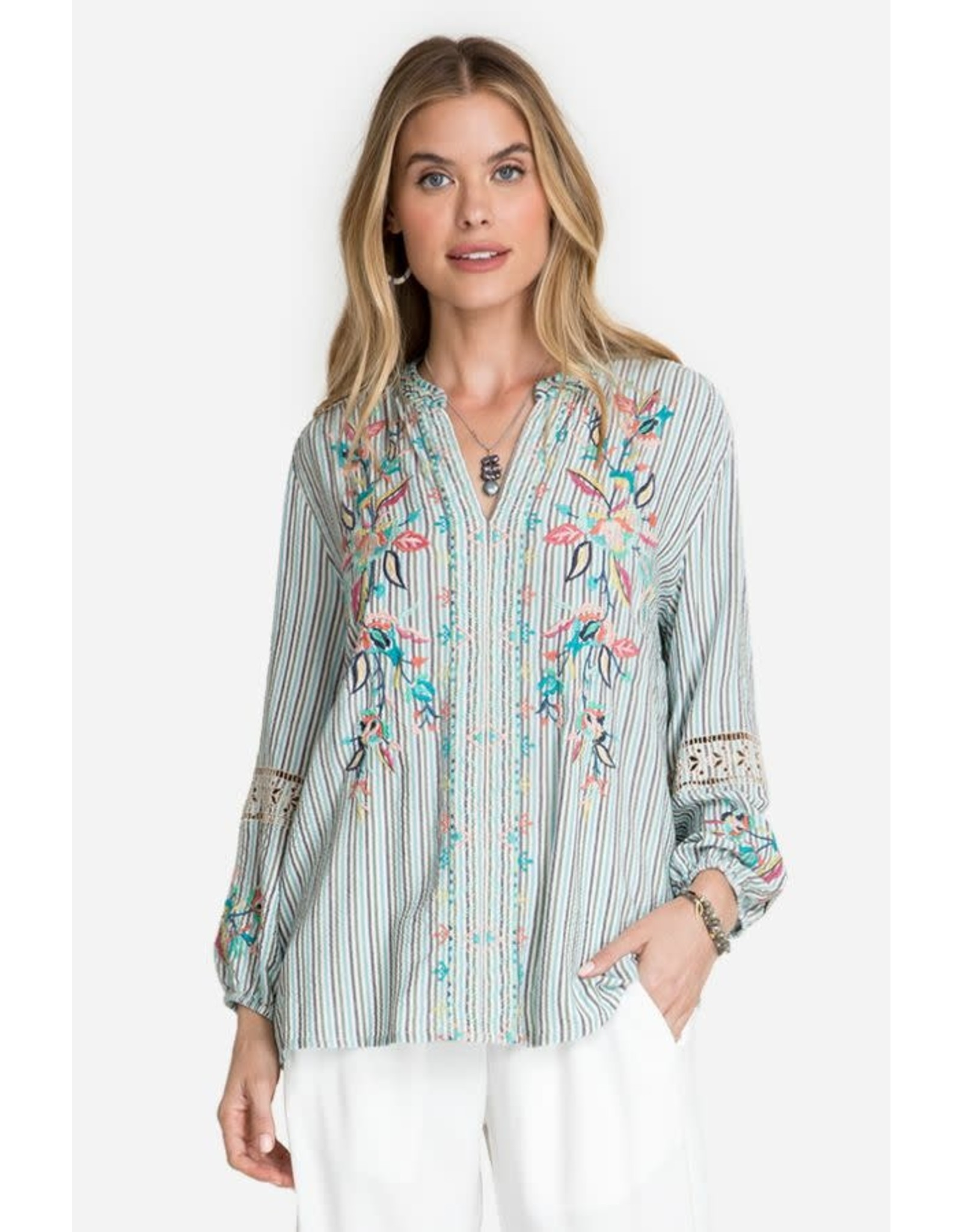 Johnny Was Lais Paris Effortless Blouse