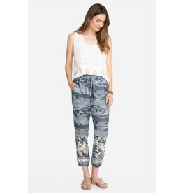 Johnny Was Oriana Linen Jogger Pant