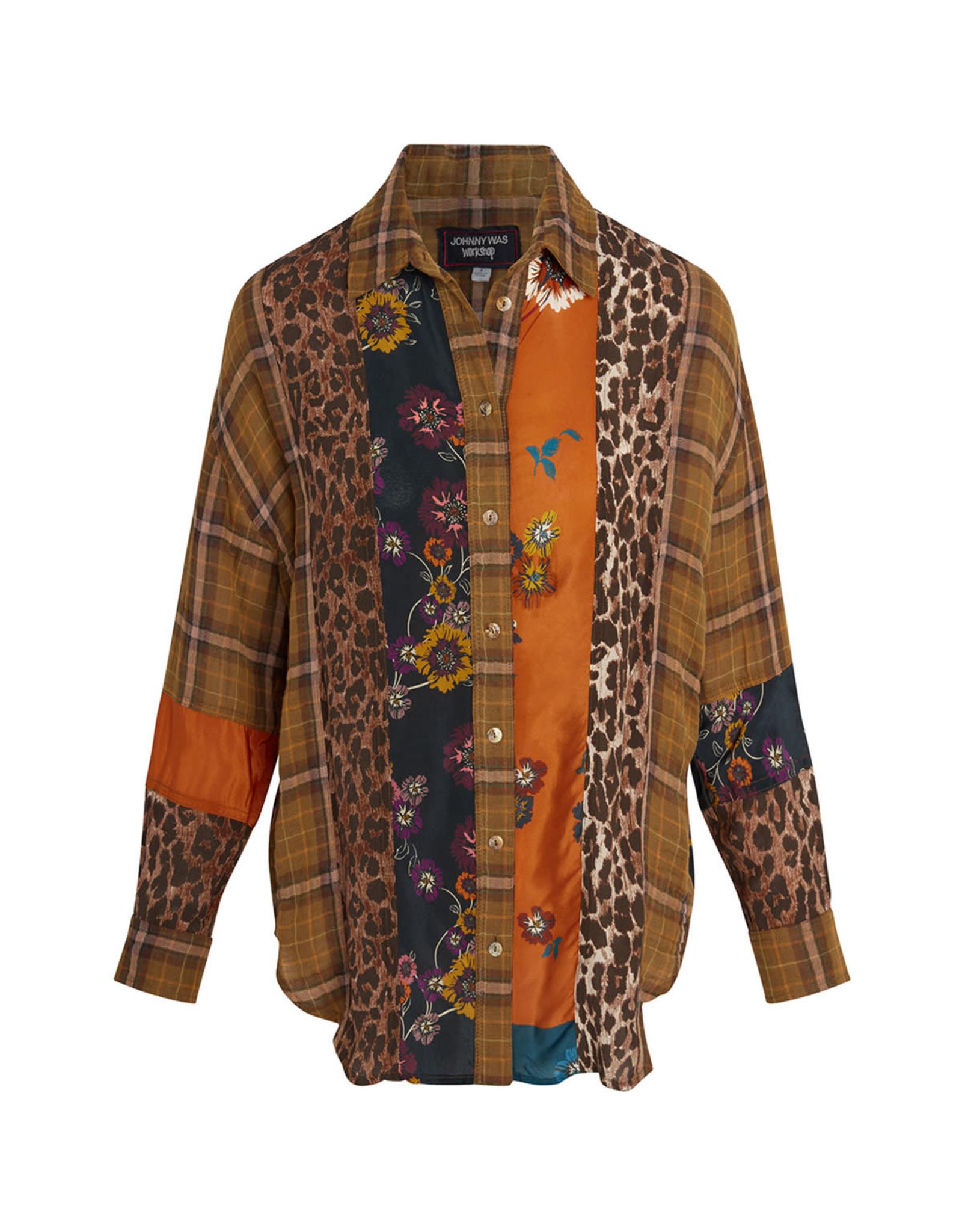 Johnny Was Johnny Was Plaid Mix Shirt