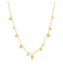 "Ania Haie GEOMETRY MIXED DISCS NECKLACE ""Lilly"""