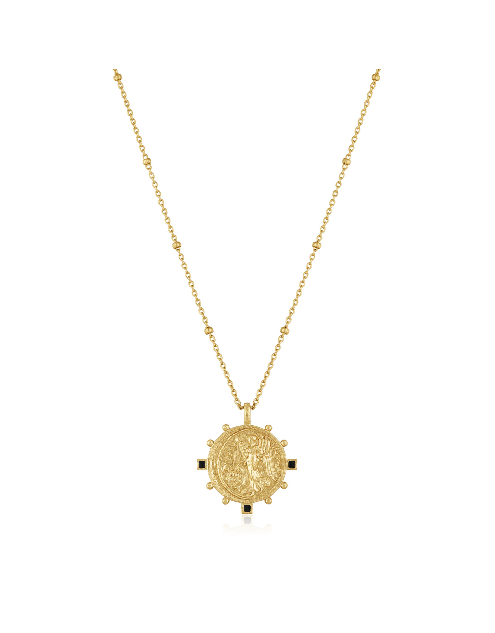 "Ania Haie VICTORY GODDESS NECKLACE ""Ally"" Gold"