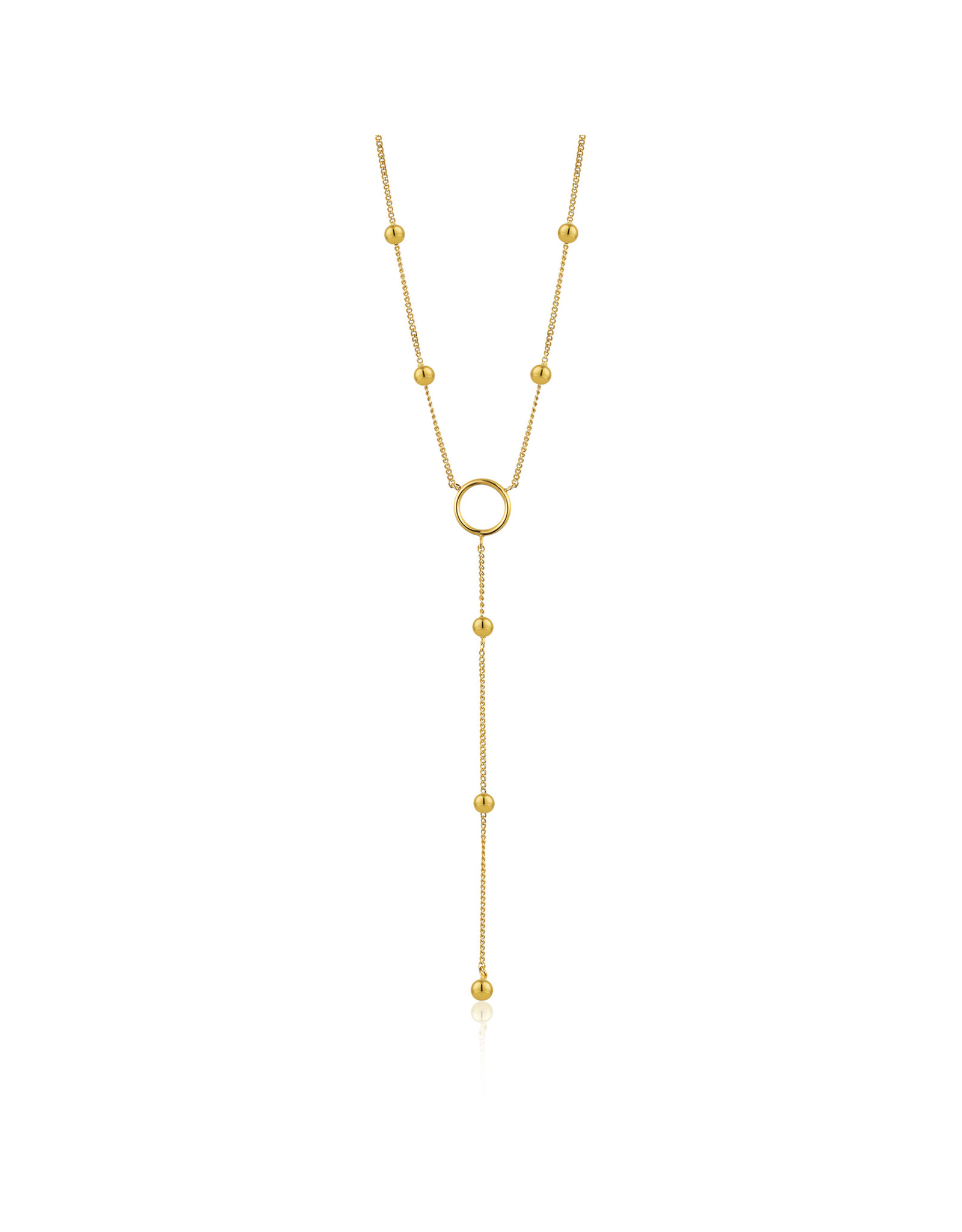 "Ania Haie MODERN CIRCLE Y NECKLACE ""Grace"""