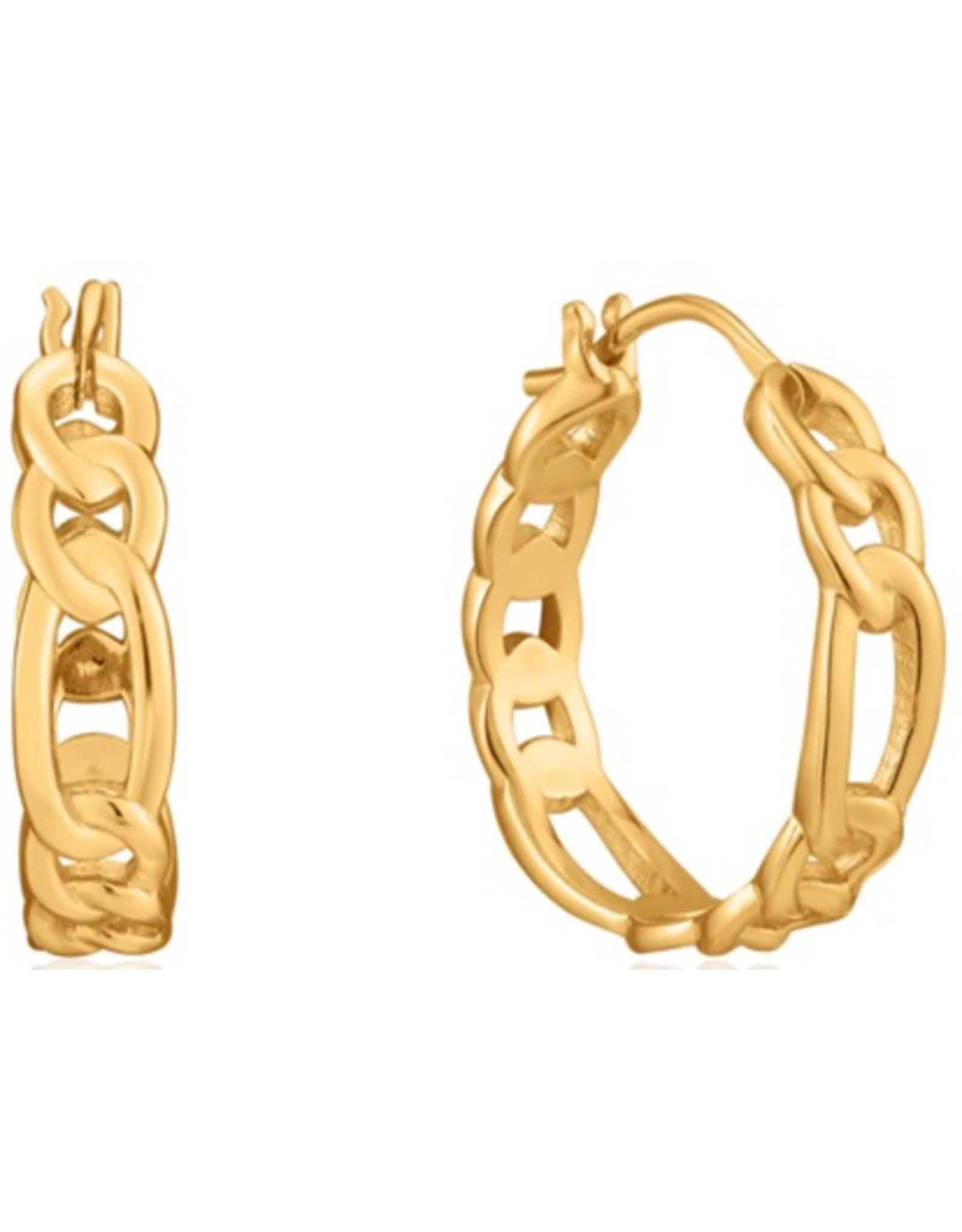 "Ania Haie FIGARO CHAIN HOOP EARRINGS ""Blair"""