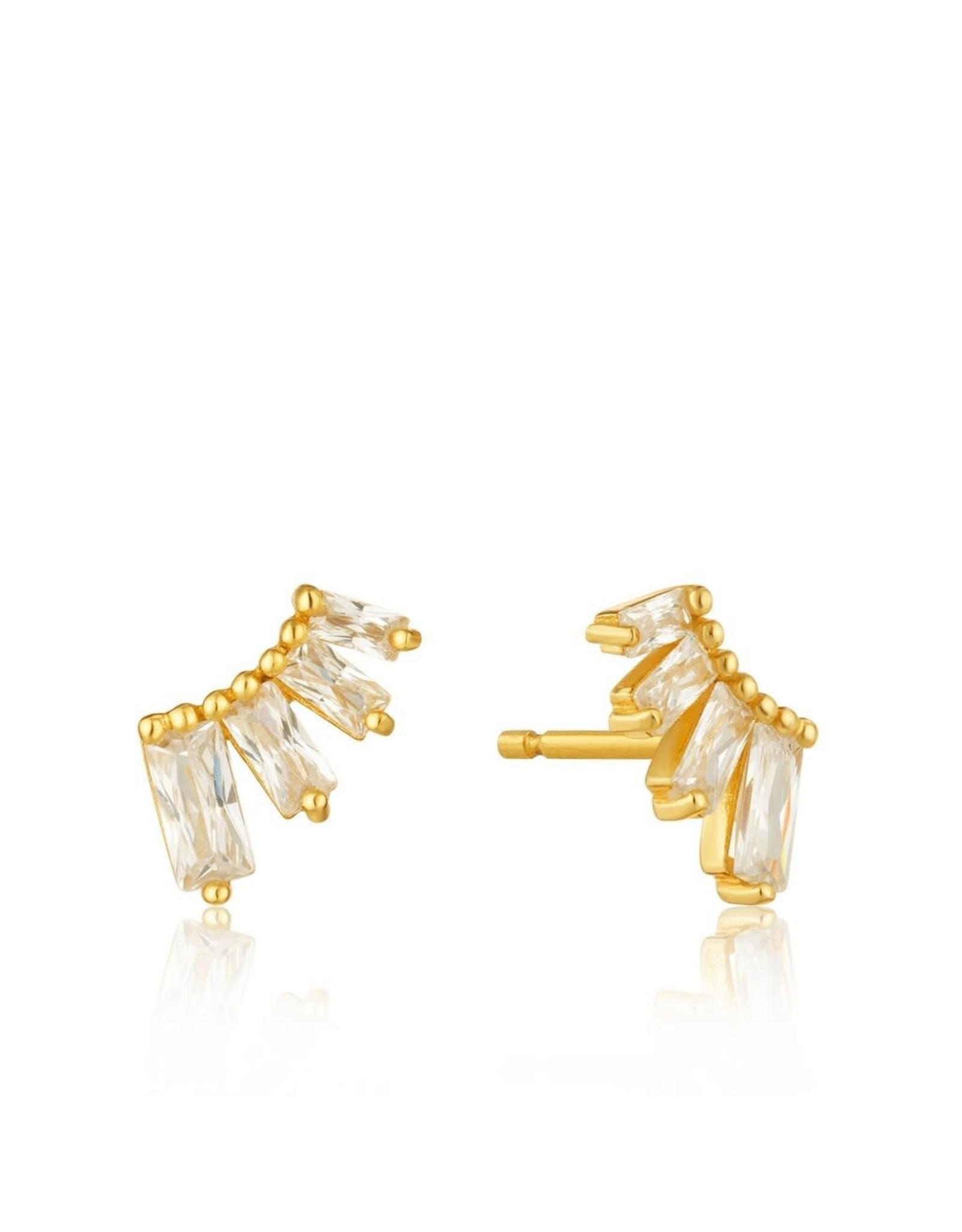 Ania Haie Glow Bar Stud Earrings
