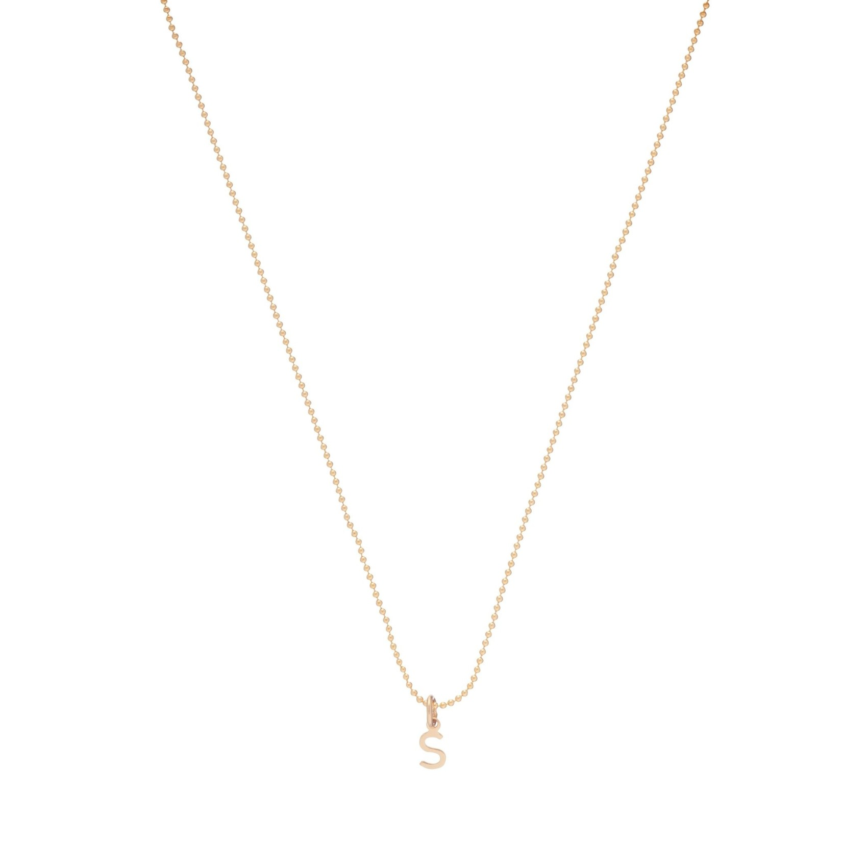 "Enewton Design 16"" Necklace Respect Gold Charm"