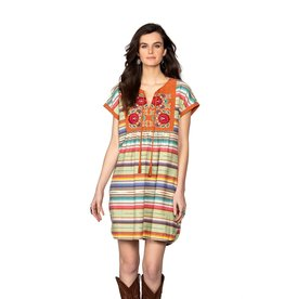 Multi Stripe Matagorda Sarape Dress