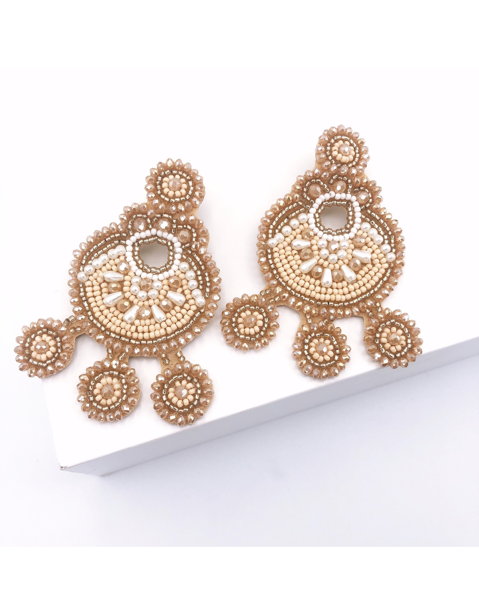 Treasure Jewels Ella Nude Earring