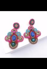 Treasure Jewels Fanny Multicolor Earring
