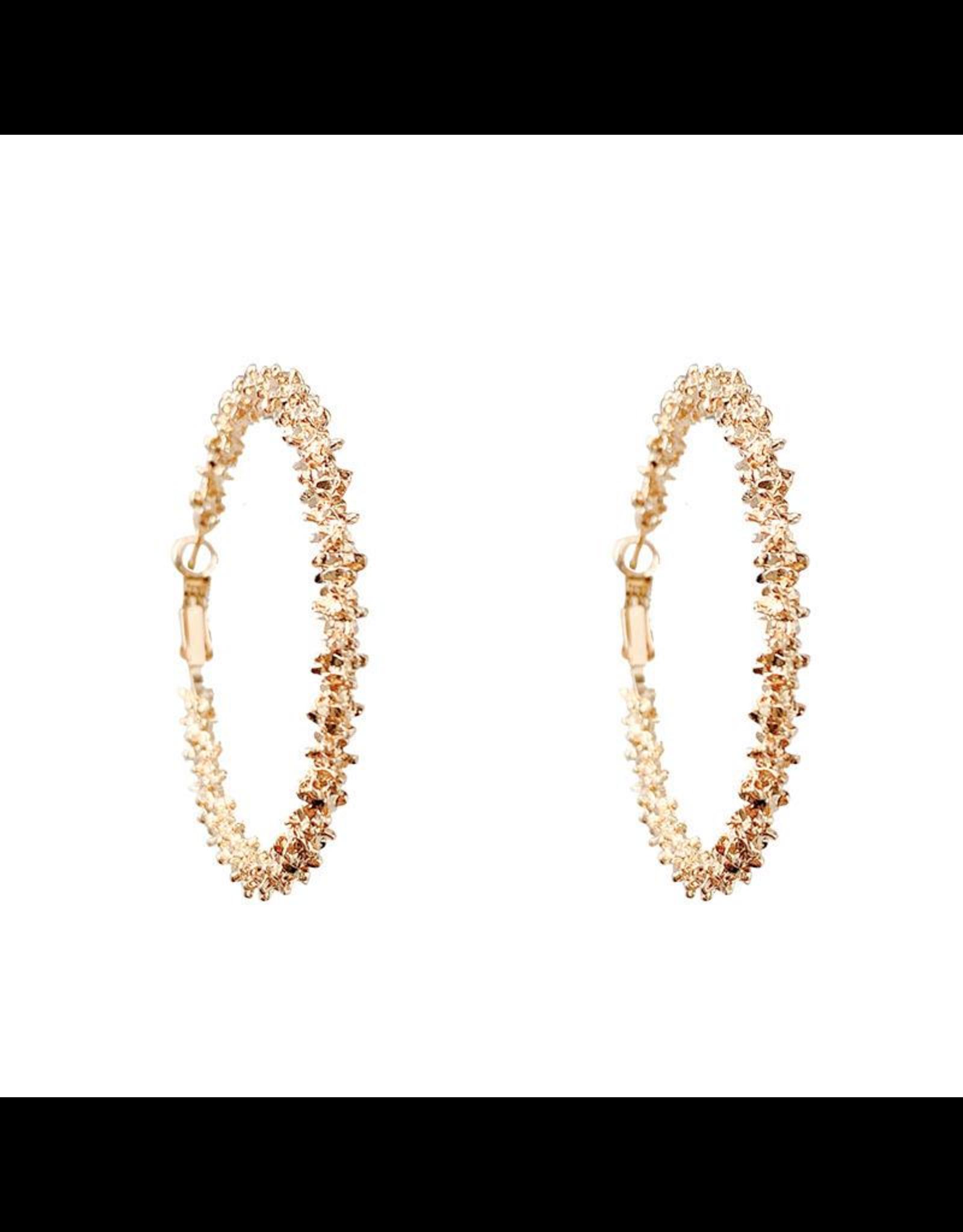 Treasure Jewels Leslie Hoop Earring