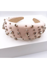 Treasure Jewels Crystal Nude Dots Headband