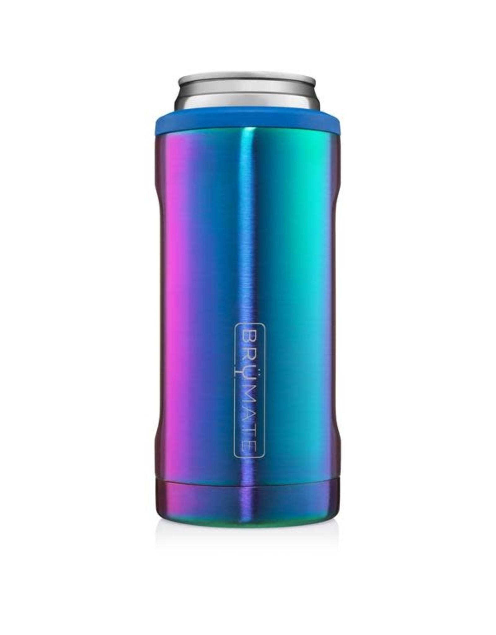 Brumate Hopsulator Slim Rainbow Titanium