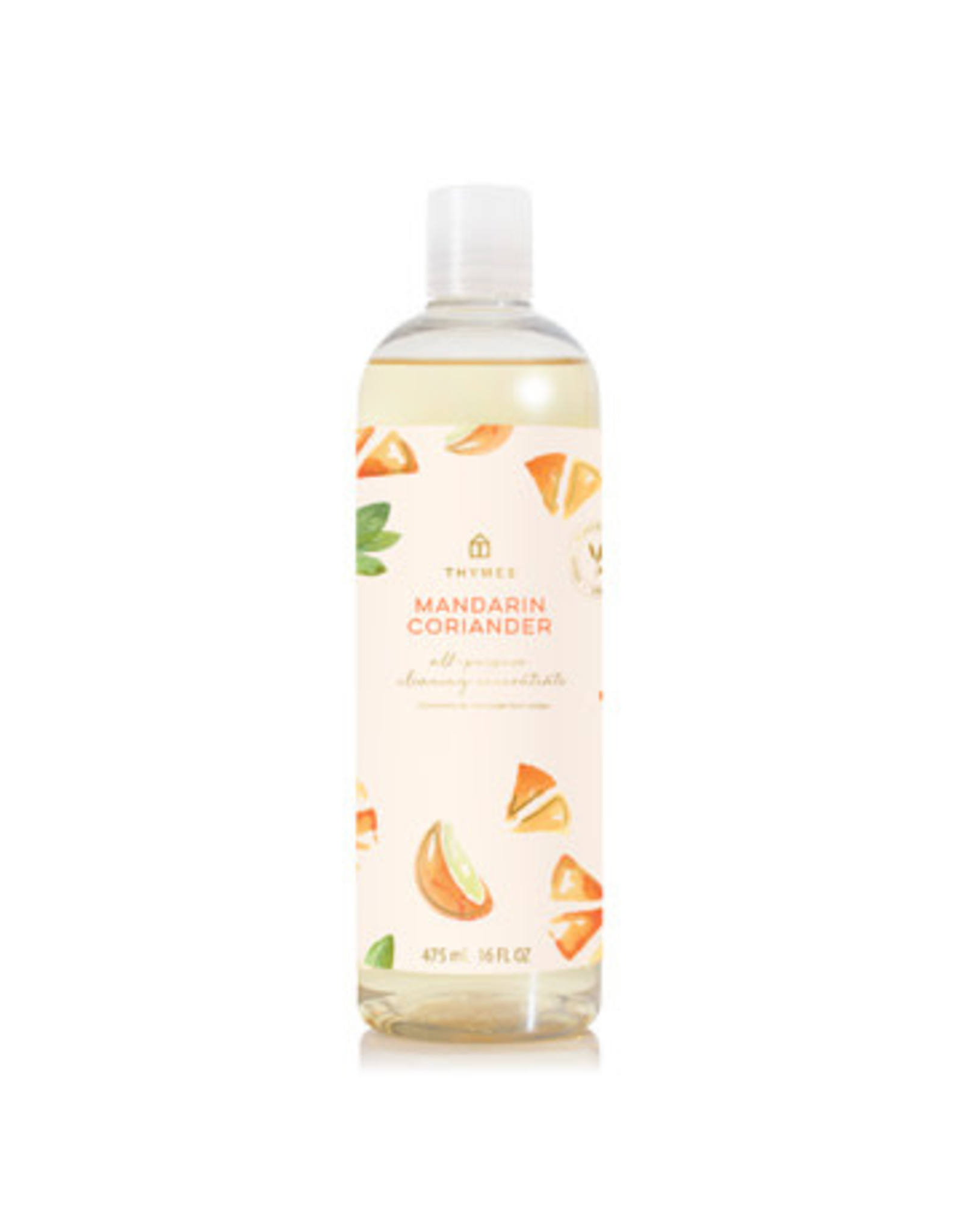 Thymes Mandarin Coriander All-Purpose Cleaning Concentrate