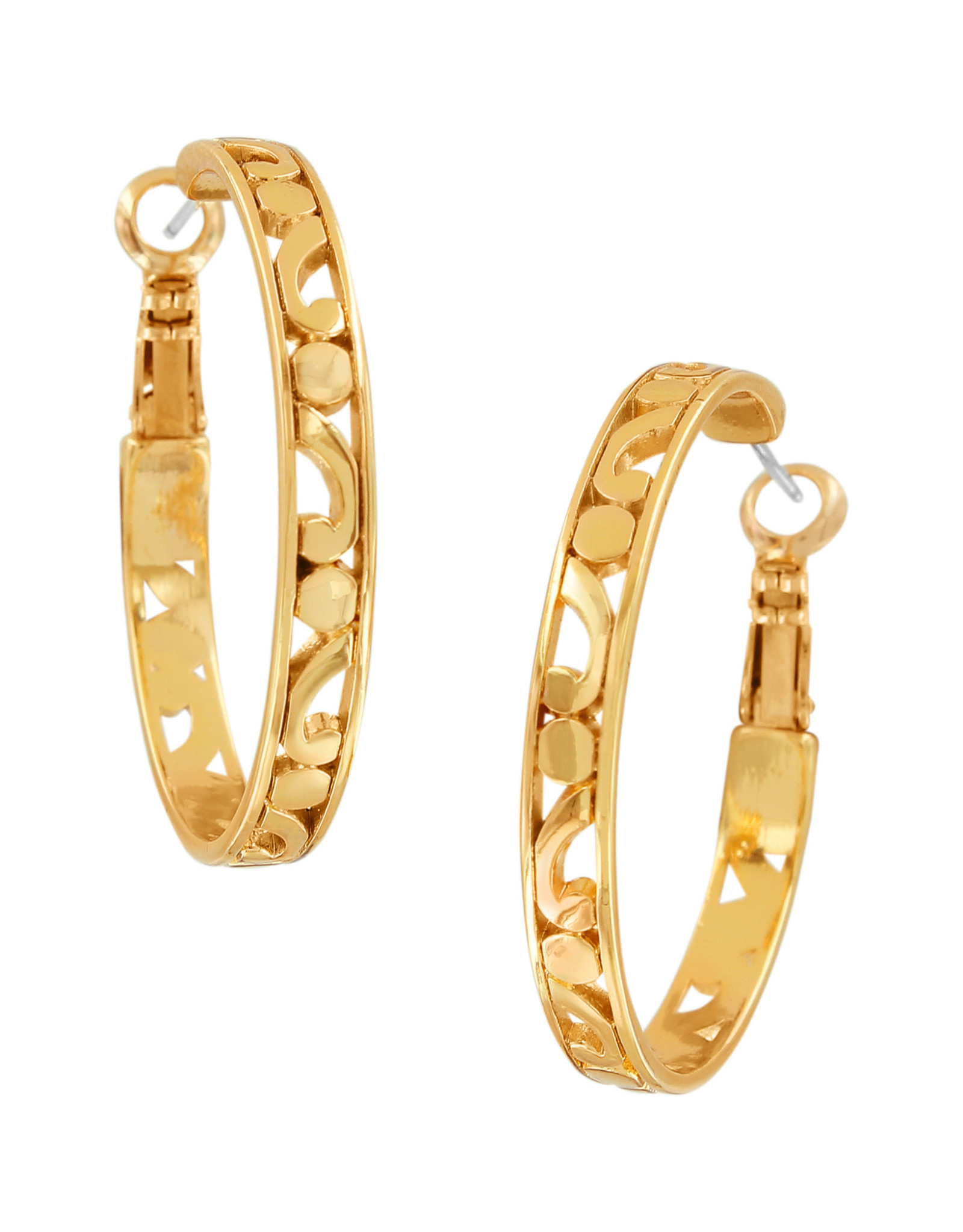 Brighton Contempo Small Hoop Earrings Gold