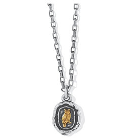 Brighton Ferrara Virtue Virtue Owl Pendant Necklace