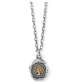 Brighton Ferrara Virtue Oak Tree Pendant Necklace