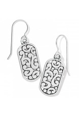 Brighton Contempo Token Tag French Wire Earrings