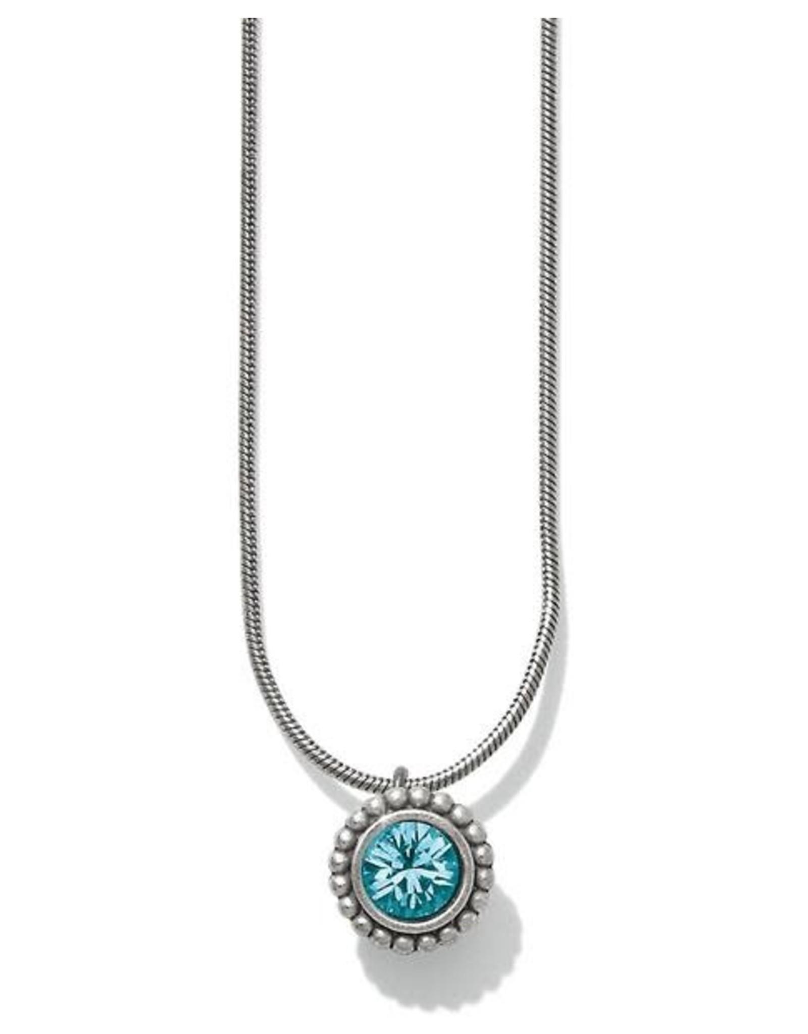 Brighton Twinkle Zircon Necklace Blue