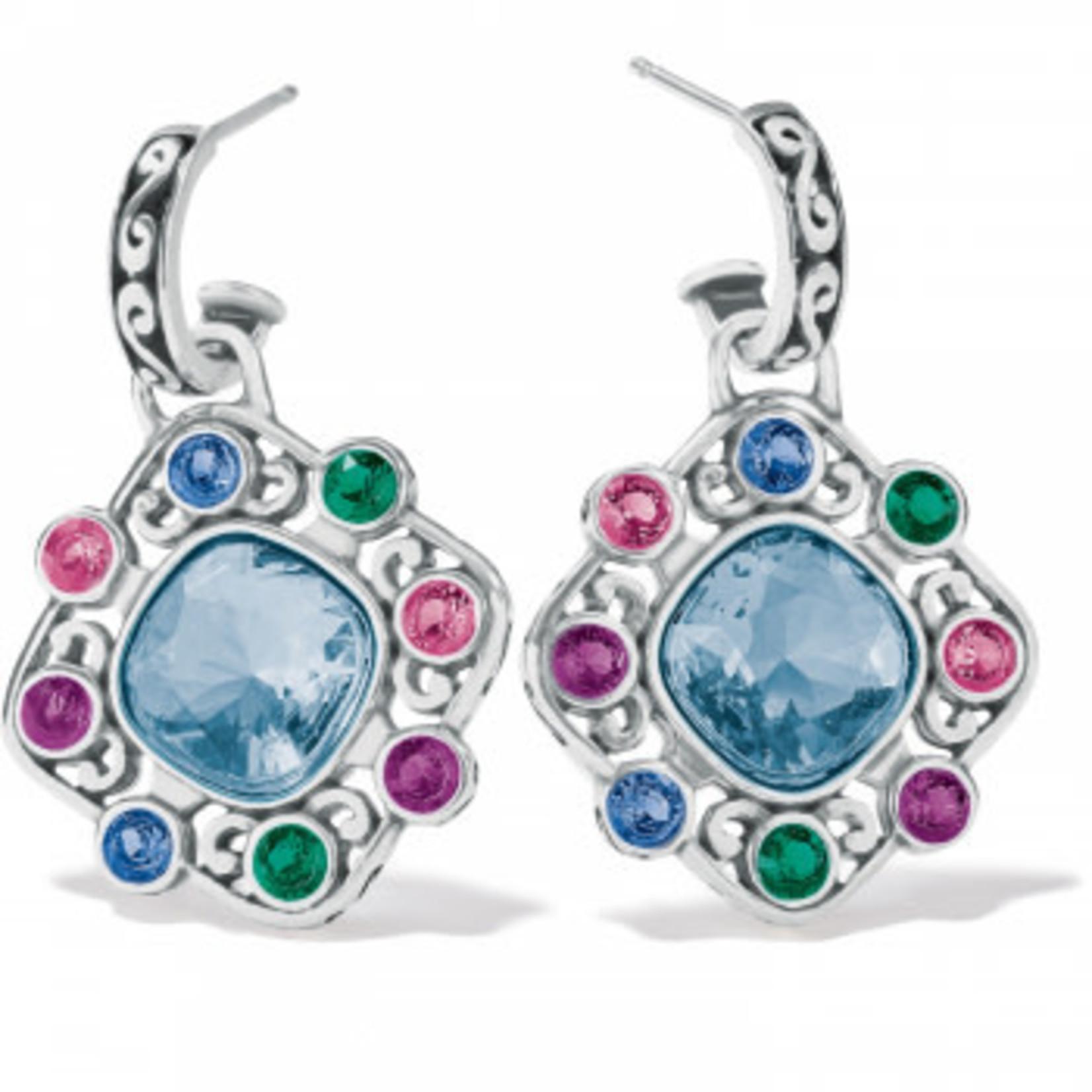 Brighton Elora Gems Palette Post Drop Earrings