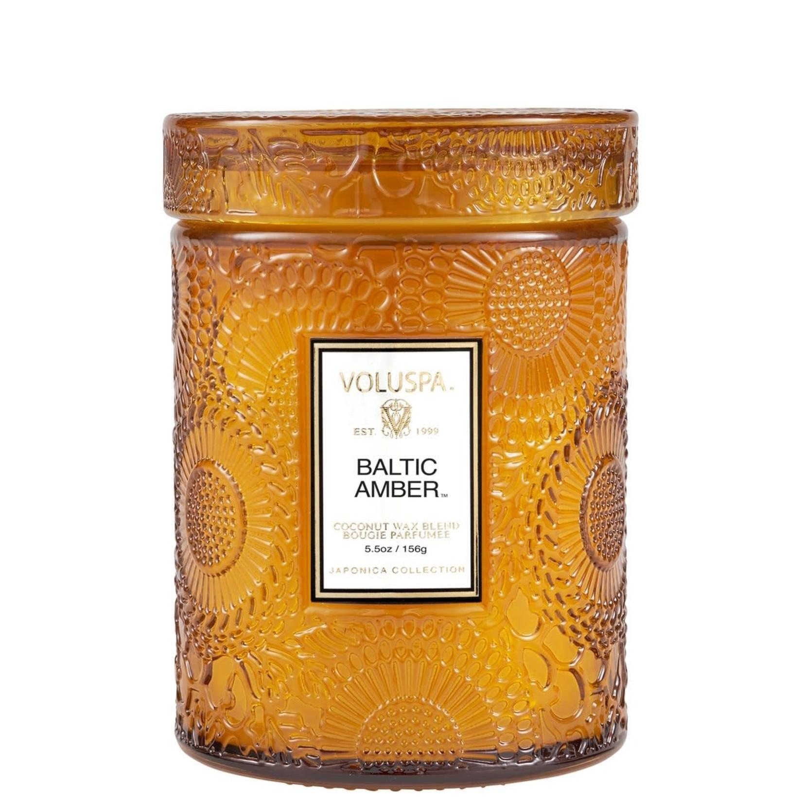 Voluspa Baltic Amber Small Jar Candle