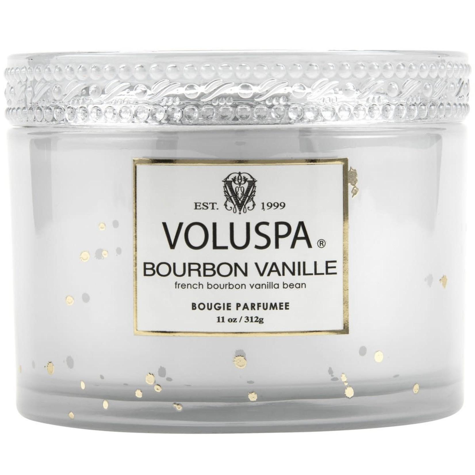 Voluspa Bourbon Vanille Corta Maison Boxed Candle