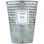 Voluspa Milk Rose Table Tin Candle