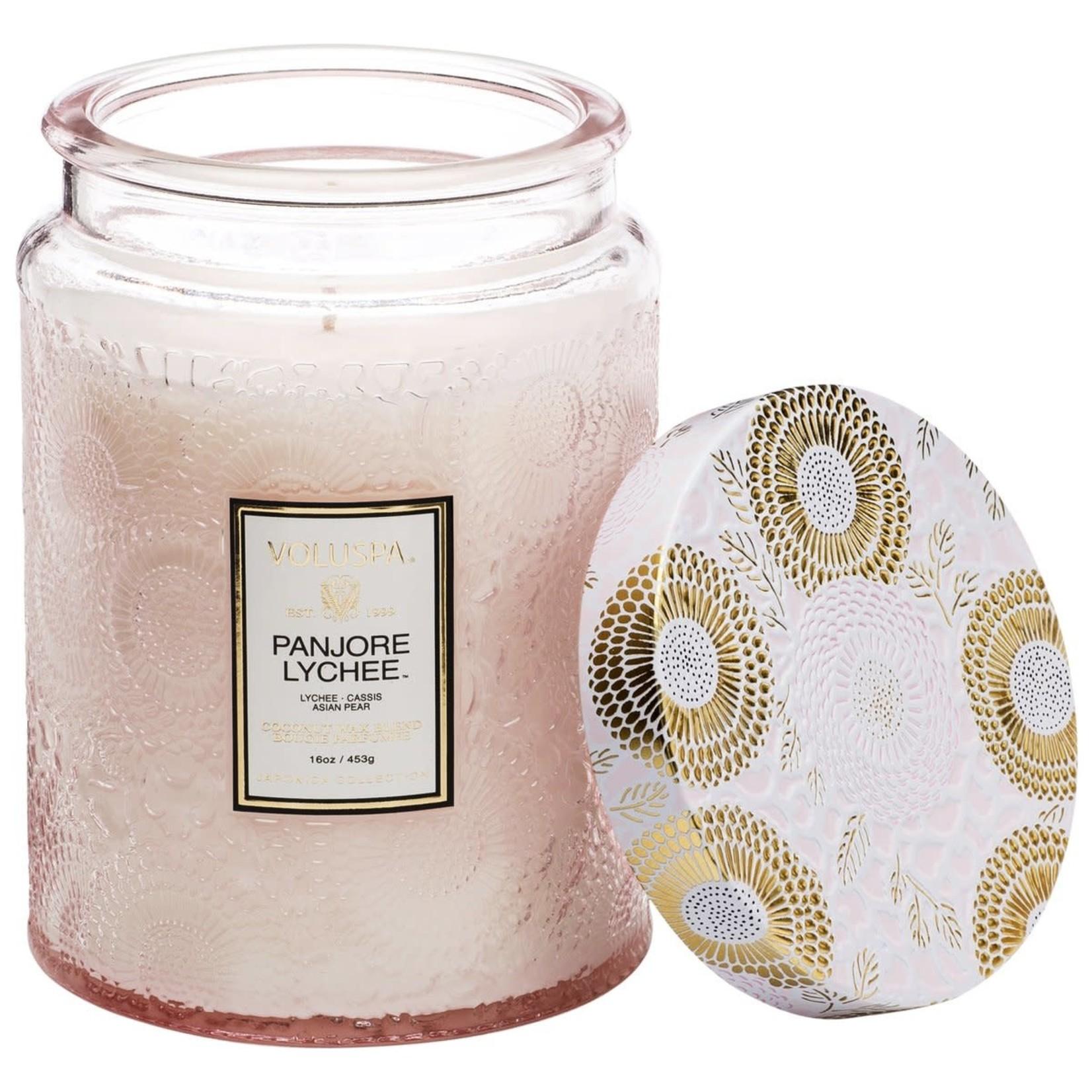 Voluspa Panjore Lychee Large Jar Candle