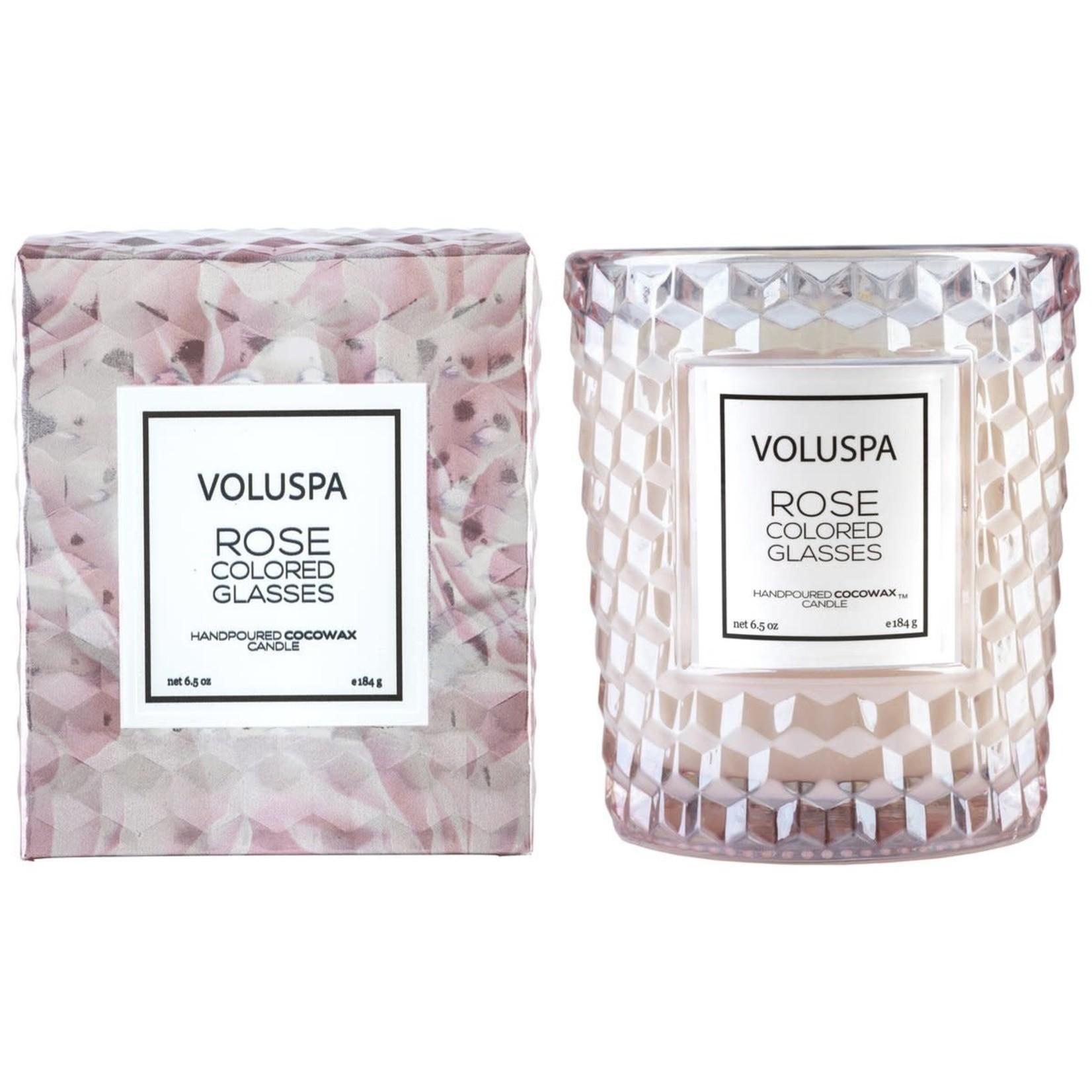 Voluspa Rose Colored Glasses Classic Candle