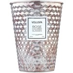 Voluspa Rose Colored Glasses Table Tin Candle