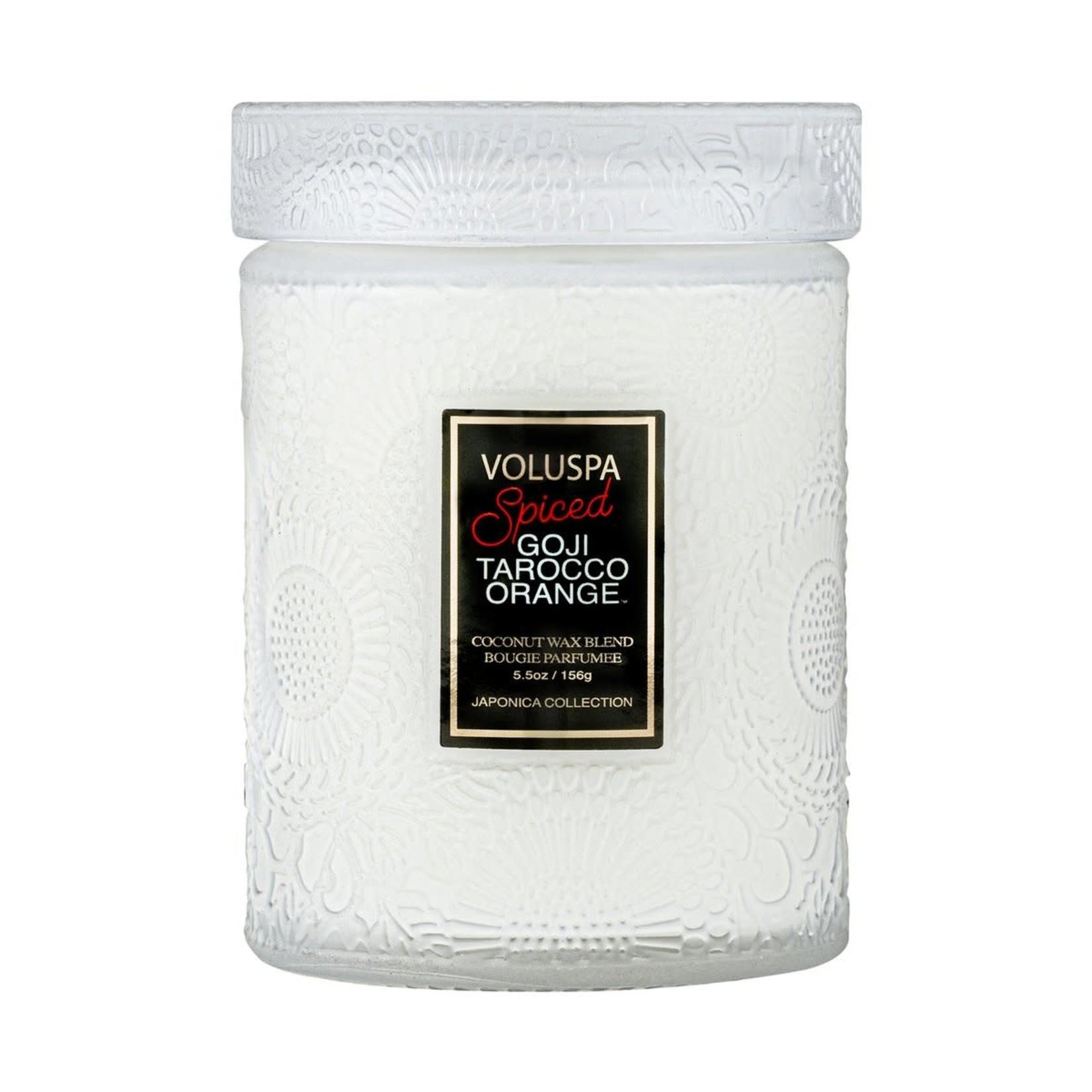 Voluspa Spiced Goji Small Jar Candle