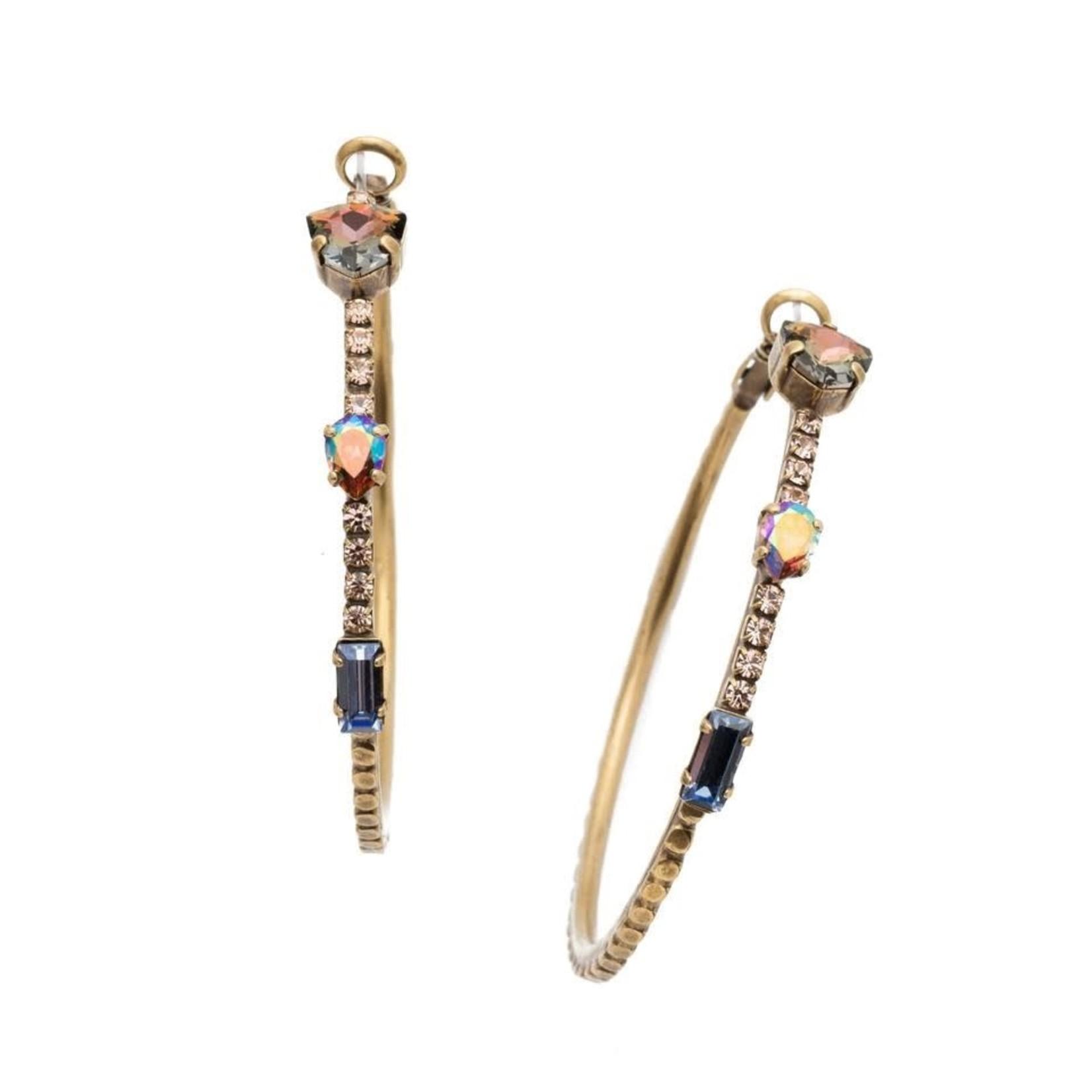 Sorrelli Meryl Hoop Earrings