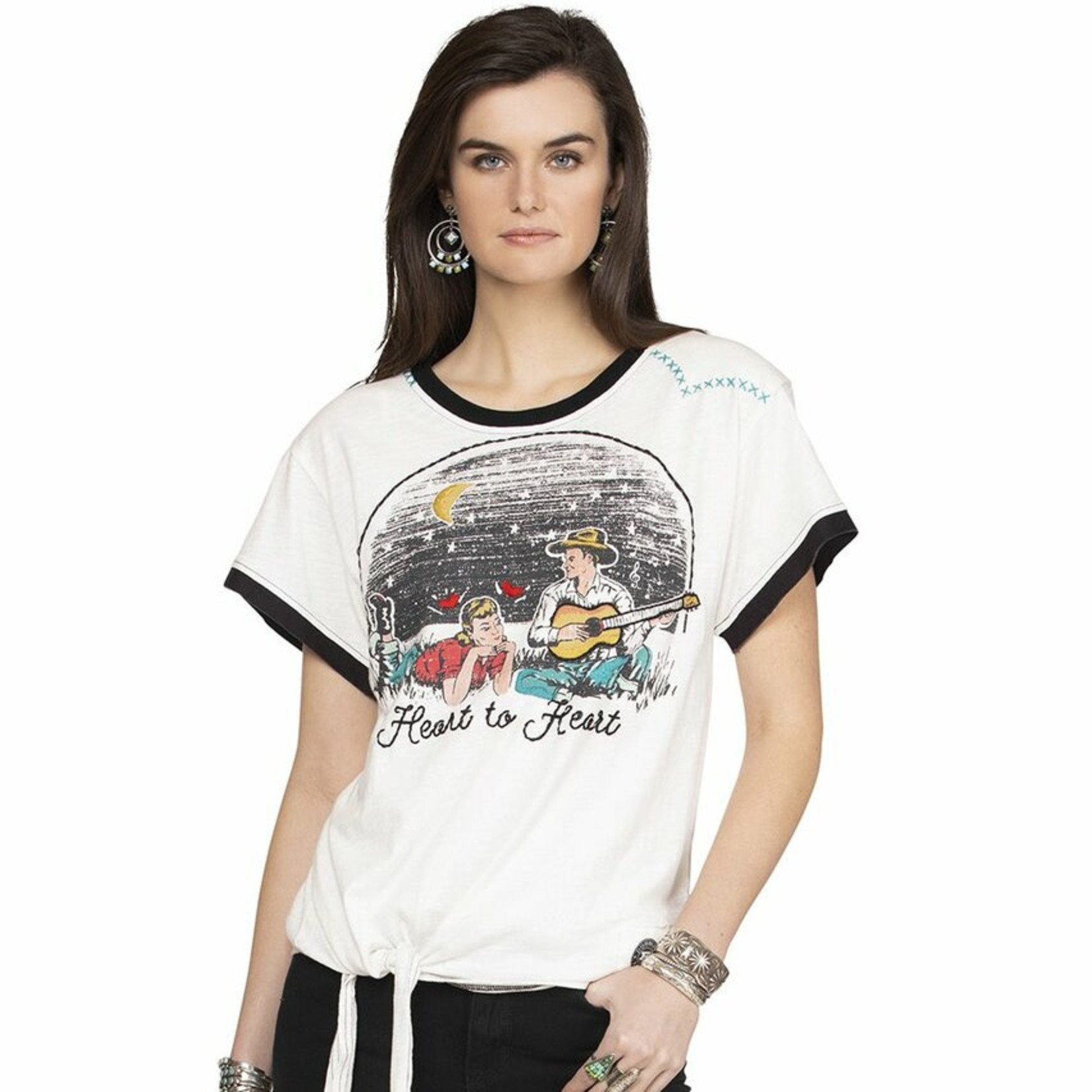 Double D Ranch Heart to Heart Top